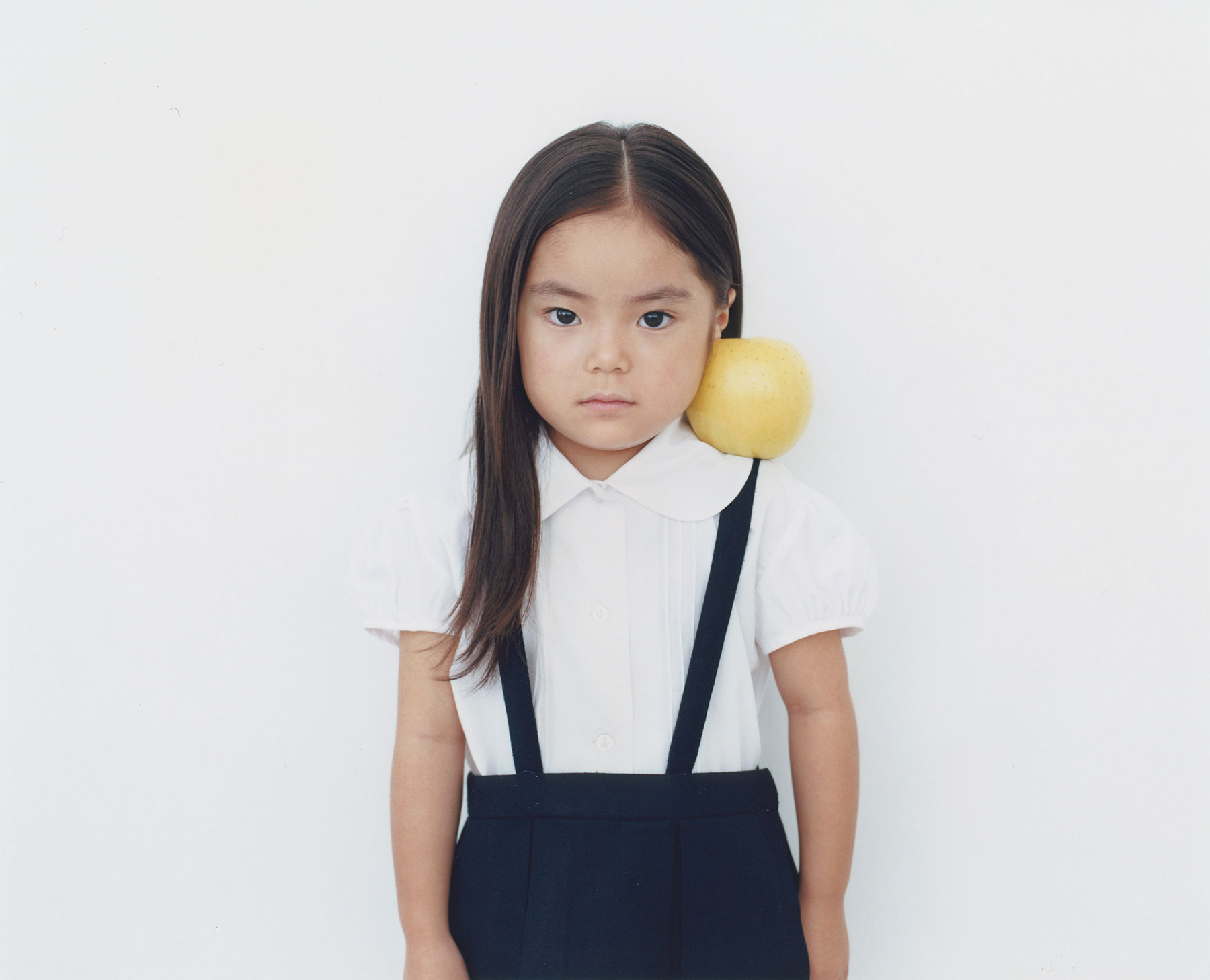 Osamu Yokonami,  1000 Children: Yellow Apple No. 71 , 2010-2013  Digital pigment print, 895 x 1105 mm (approx. 35 x 43.5 in), edition of 5; 146 x 168 mm (approx. 5.75 x 6.6 in), edition of 10   Inquire