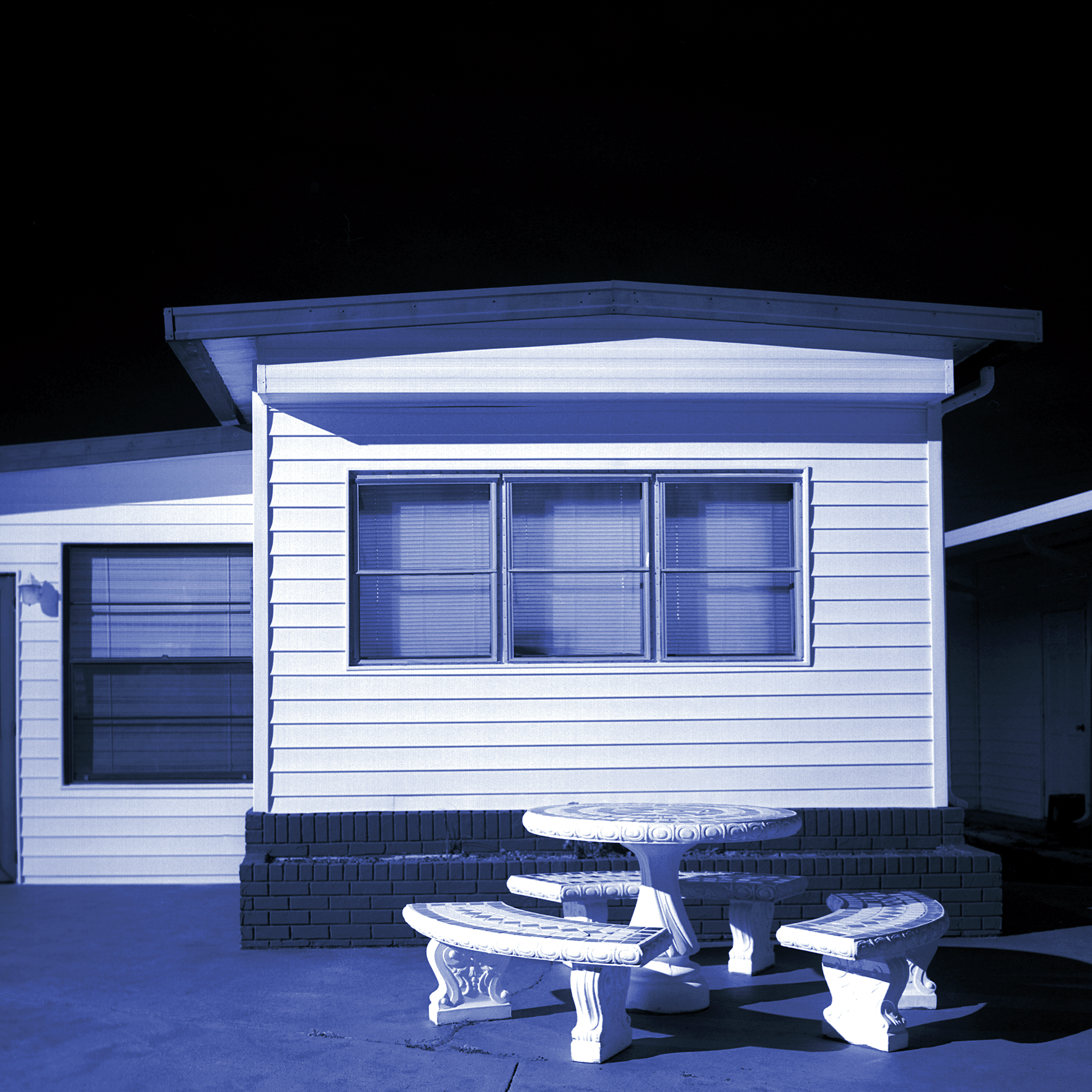 Judy Gelles,  Mobile Home No. 13 , 2002  Digital pigment print, 8 x 8 in, edition of 25; 15 x 15 in, edition of 25   Inquire