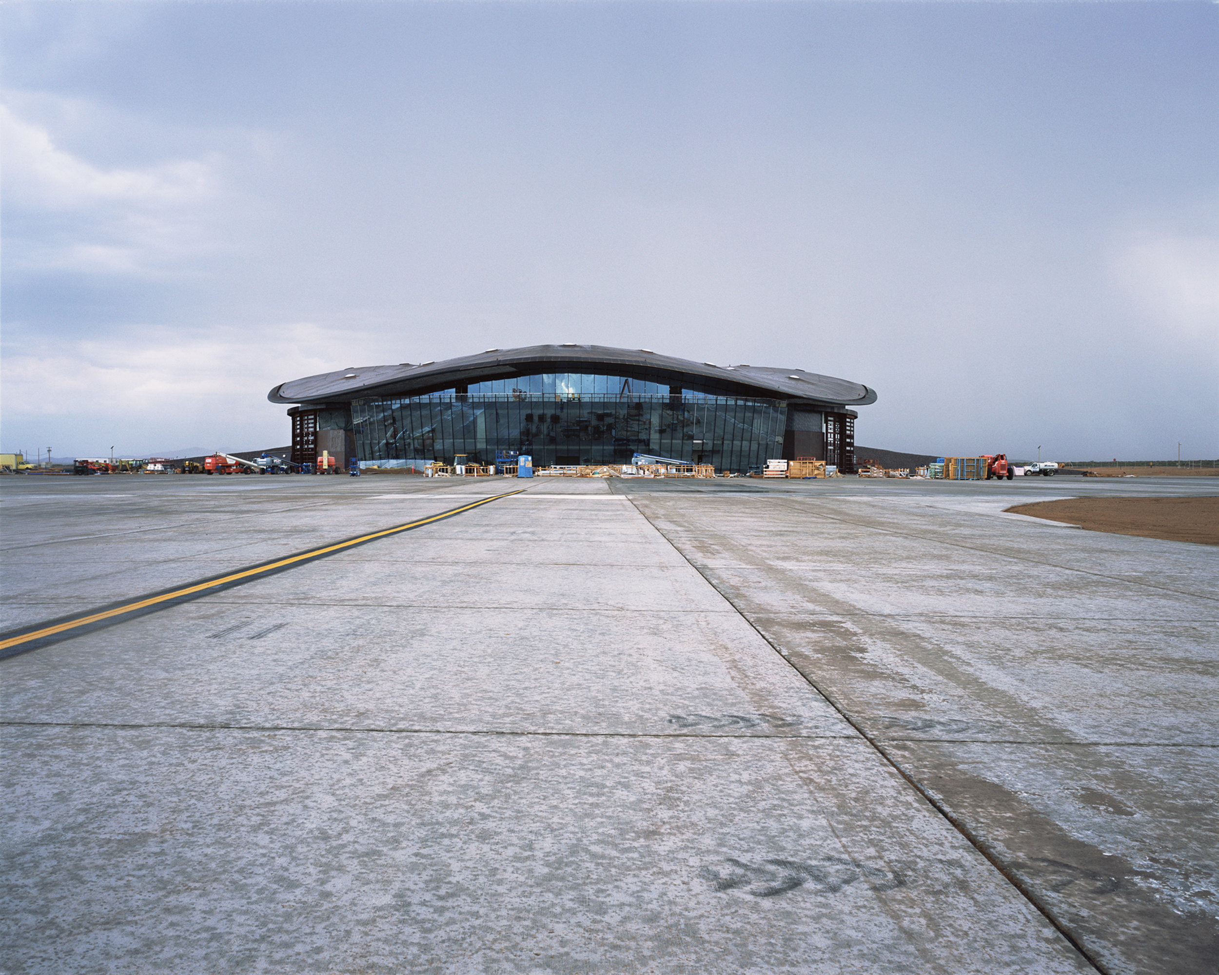 Connie Samaras,  Spaceport America: Terminal Hangar Facility, Facing Mission Control, 2010   Digital pigment print, 30 x 40 inches, edition of 5   Inquire