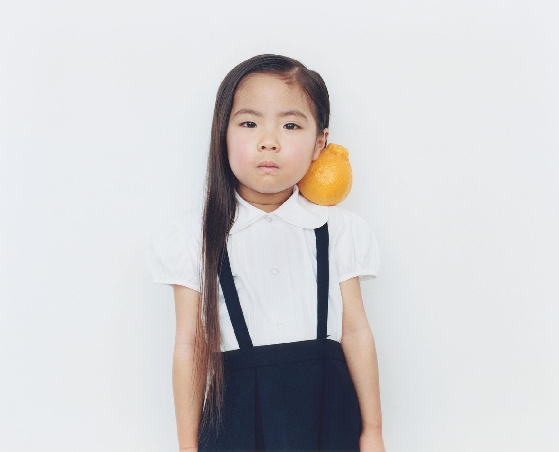 Osamu Yokonami,  1000 Children: Sumo Mandarin No. 2 , 2010-2013  Digital pigment print, 895 x 1105 mm (approx. 34.25 x 43.5 in), edition of 5; 146 x 168 mm (approx. 5.75 x 6.6 in), edition of 10   Inquire