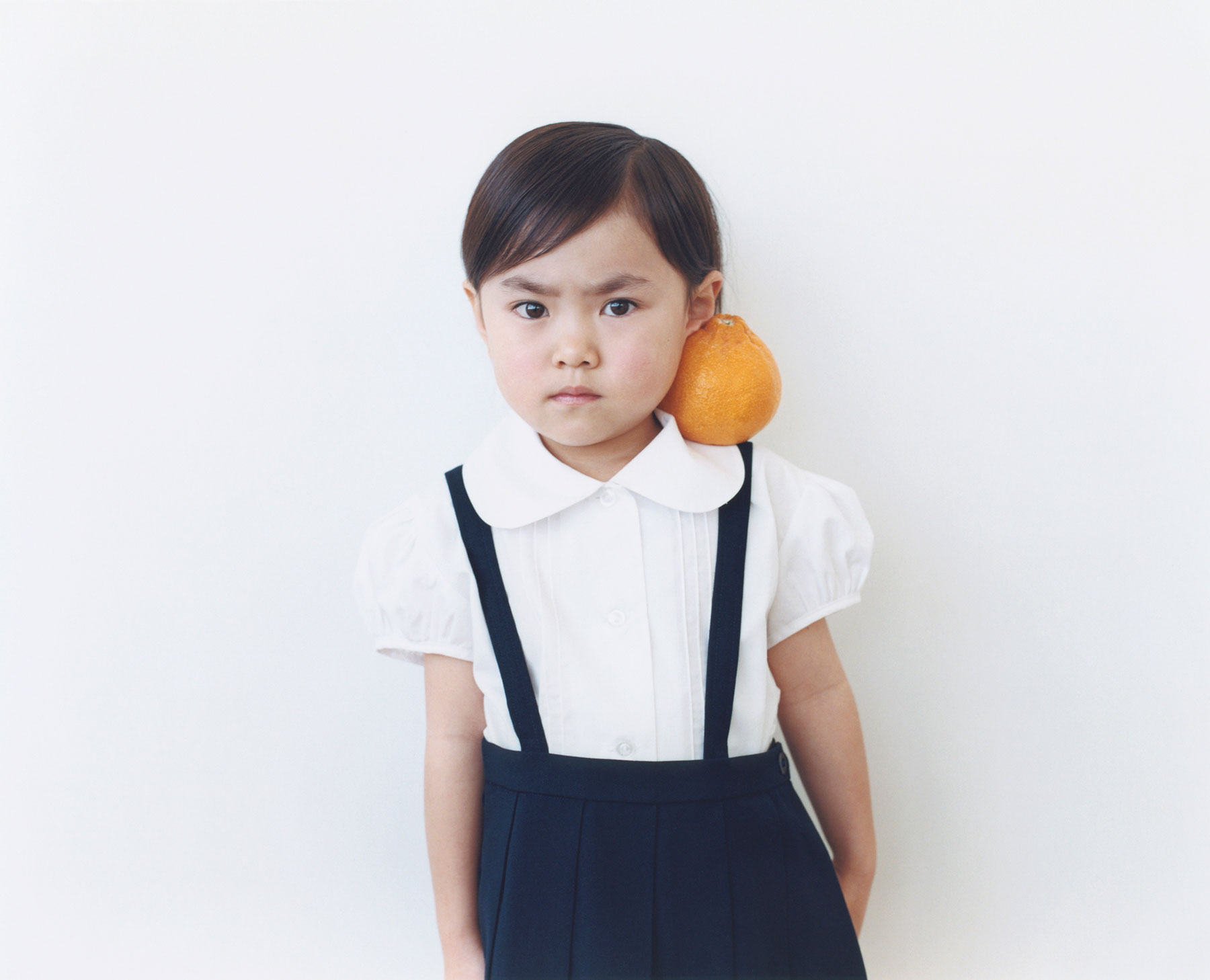 Osamu Yokonami,  1000 Children: Sumo Mandarin No. 39 , 2010-2013  Digital pigment print, 895 x 1105 mm (approx. 34.25 x 43.5 in), edition of 5; 146 x 168 mm (approx. 5.75 x 6.6 in), edition of 10   Inquire