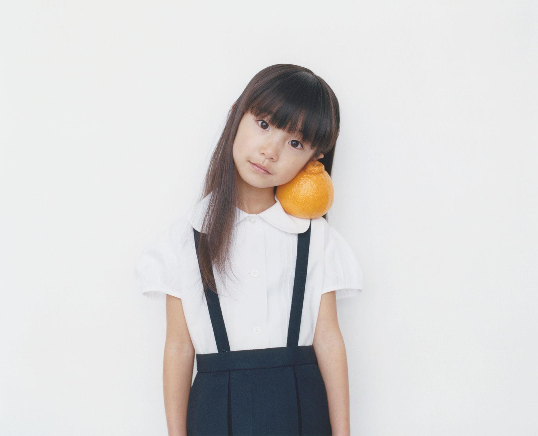 Osamu Yokonami,  1000 Children: Sumo Mandarin No. 72 , 2010-2013  Digital pigment print, 895 x 1105 mm (approx. 34.25 x 43.5 in), edition of 5; 146 x 168 mm (approx. 5.75 x 6.6 in), edition of 10   Inquire