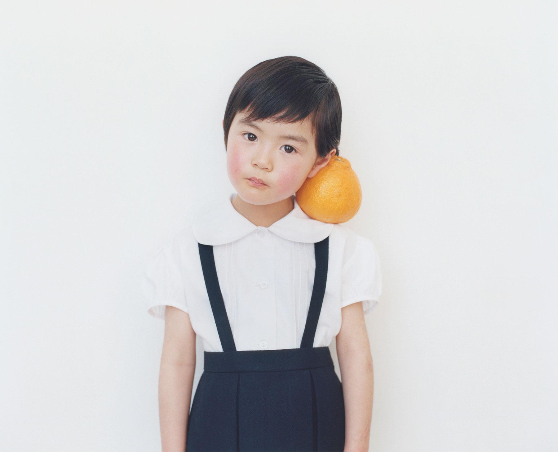 Osamu Yokonami,  1000 Children: Sumo Mandarin No. 17 , 2010-2013  Digital pigment print, 895 x 1105 mm (approx. 34.25 x 43.5 in), edition of 5; 146 x 168 mm (approx. 5.75 x 6.6 in), edition of 10   Inquire