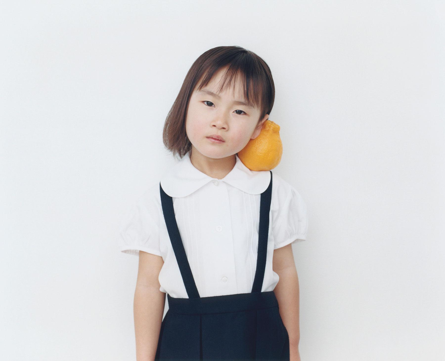Osamu Yokonami,  1000 Children: Sumo Mandarin No. 5 , 2010-2013  Digital pigment print, 895 x 1105 mm (approx. 34.25 x 43.5 in), edition of 5; 146 x 168 mm (approx. 5.75 x 6.6 in), edition of 10   Inquire