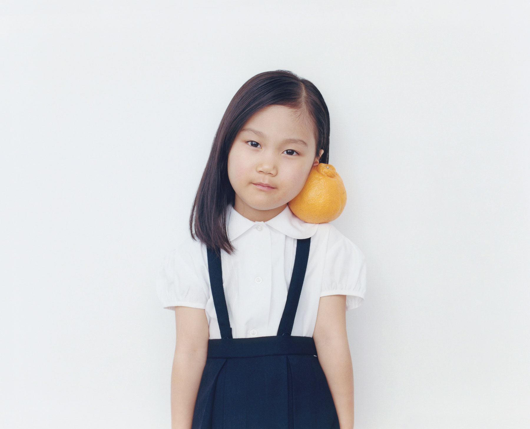 Osamu Yokonami,  1000 Children: Sumo Mandarin No. 8 , 2010-2013  Digital pigment print, 895 x 1105 mm (approx. 34.25 x 43.5 in), edition of 5; 146 x 168 mm (approx. 5.75 x 6.6 in), edition of 10   Inquire