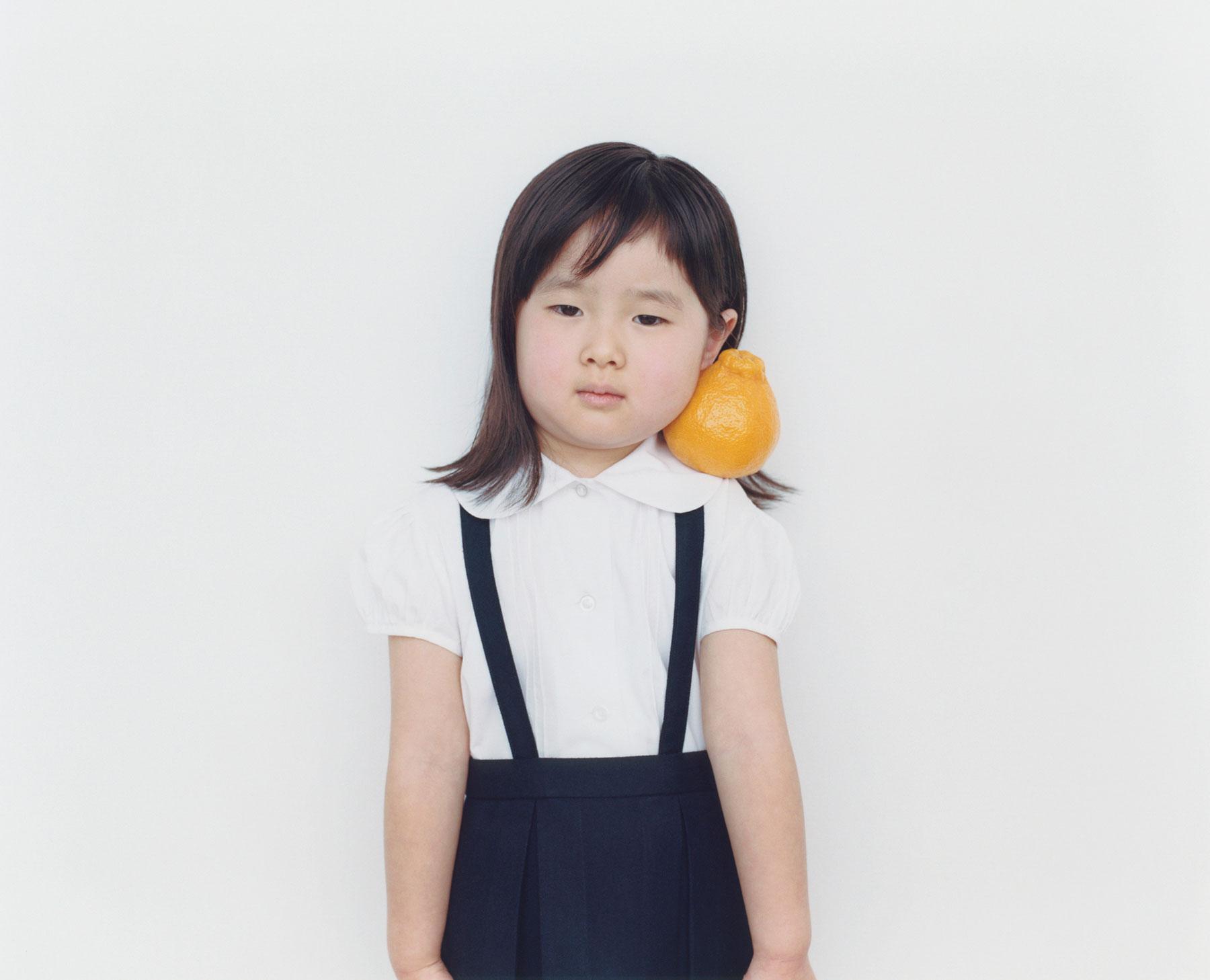 Osamu Yokonami,  1000 Children: Sumo Mandarin No. 11 , 2010-2013  Digital pigment print, 895 x 1105 mm (approx. 34.25 x 43.5 in), edition of 5; 146 x 168 mm (approx. 5.75 x 6.6 in), edition of 10   Inquire