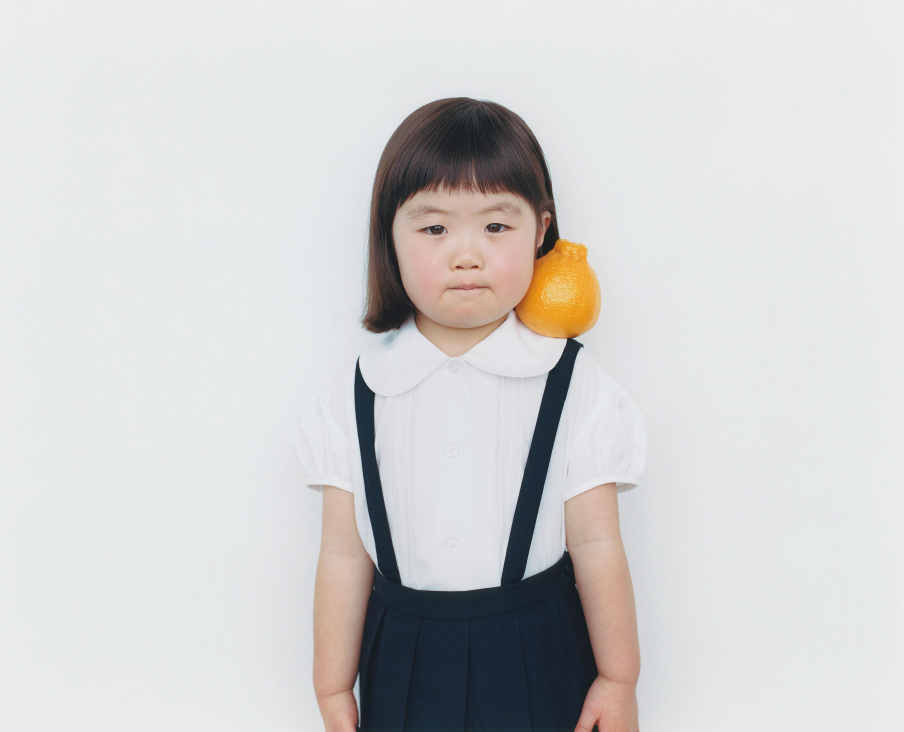 Osamu Yokonami,  1000 Children: Sumo Mandarin No. 16 , 2010-2013  Digital pigment print, 895 x 1105 mm (approx. 34.25 x 43.5 in), edition of 5; 146 x 168 mm (approx. 5.75 x 6.6 in), edition of 10   Inquire