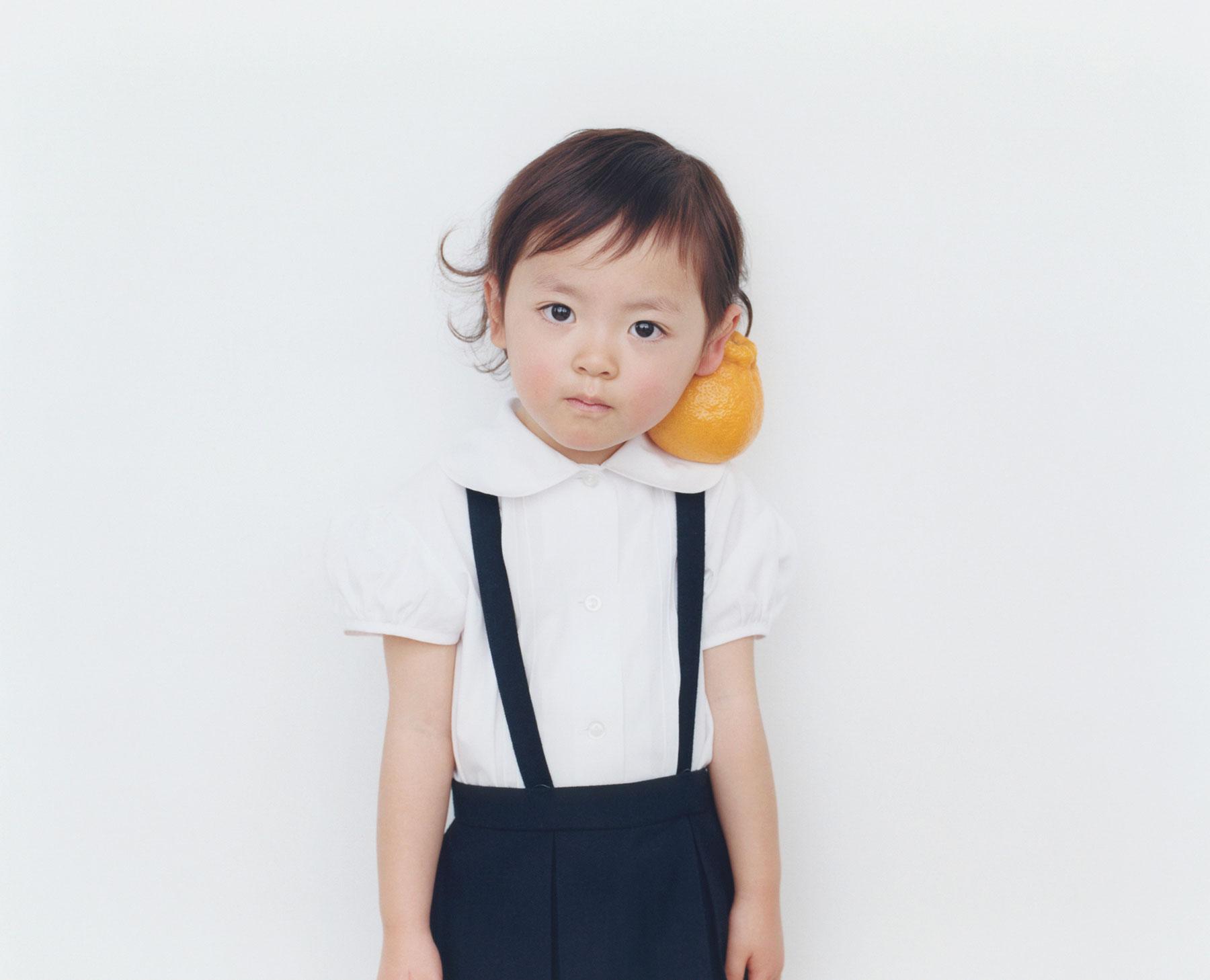 Osamu Yokonami,  1000 Children: Sumo Mandarin No. 23 , 2010-2013  Digital pigment print, 895 x 1105 mm (approx. 34.25 x 43.5 in), edition of 5; 146 x 168 mm (approx. 5.75 x 6.6 in), edition of 10   Inquire