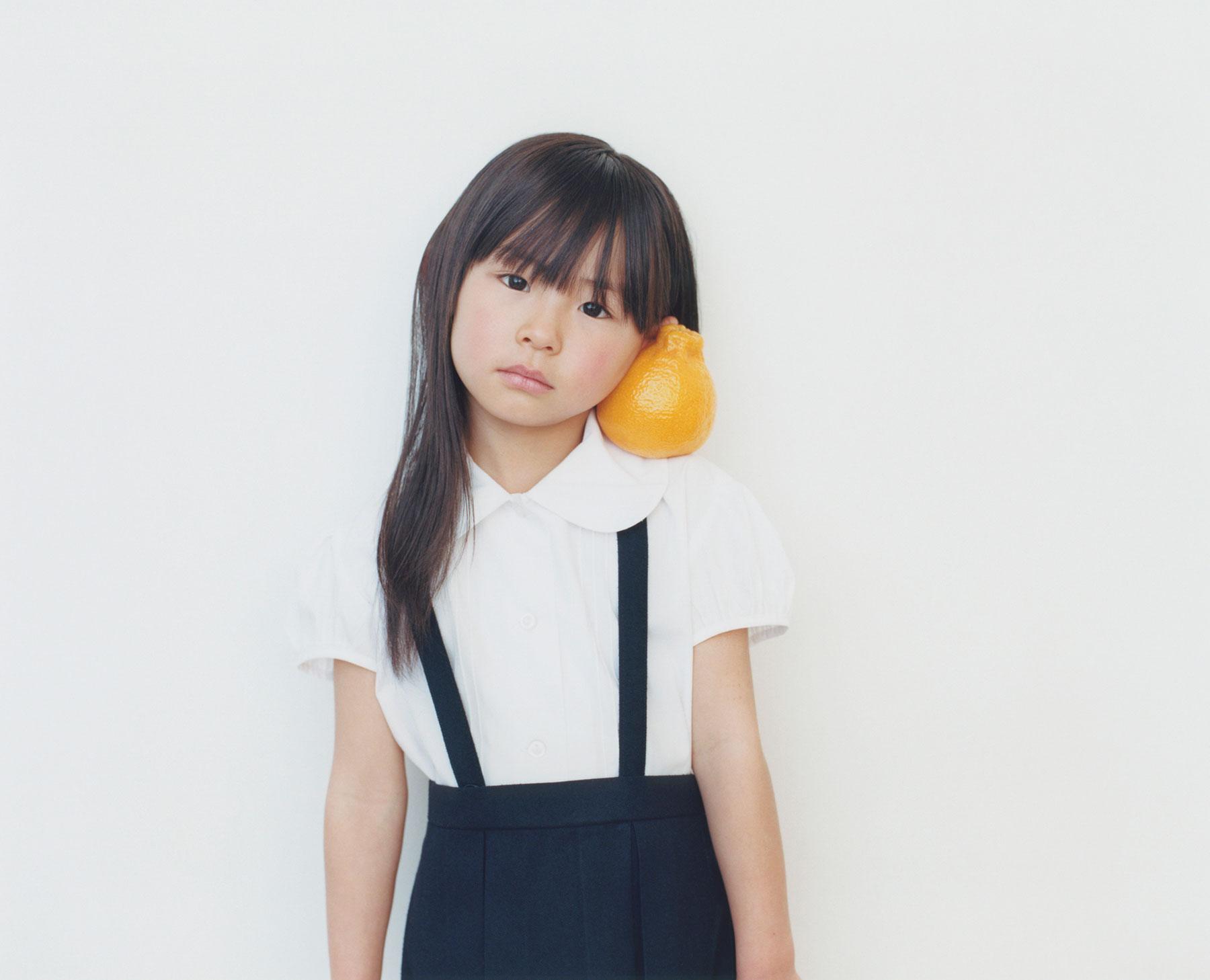 Osamu Yokonami,  1000 Children: Sumo Mandarin No. 24 , 2010-2013  Digital pigment print, 895 x 1105 mm (approx. 34.25 x 43.5 in), edition of 5; 146 x 168 mm (approx. 5.75 x 6.6 in), edition of 10   Inquire