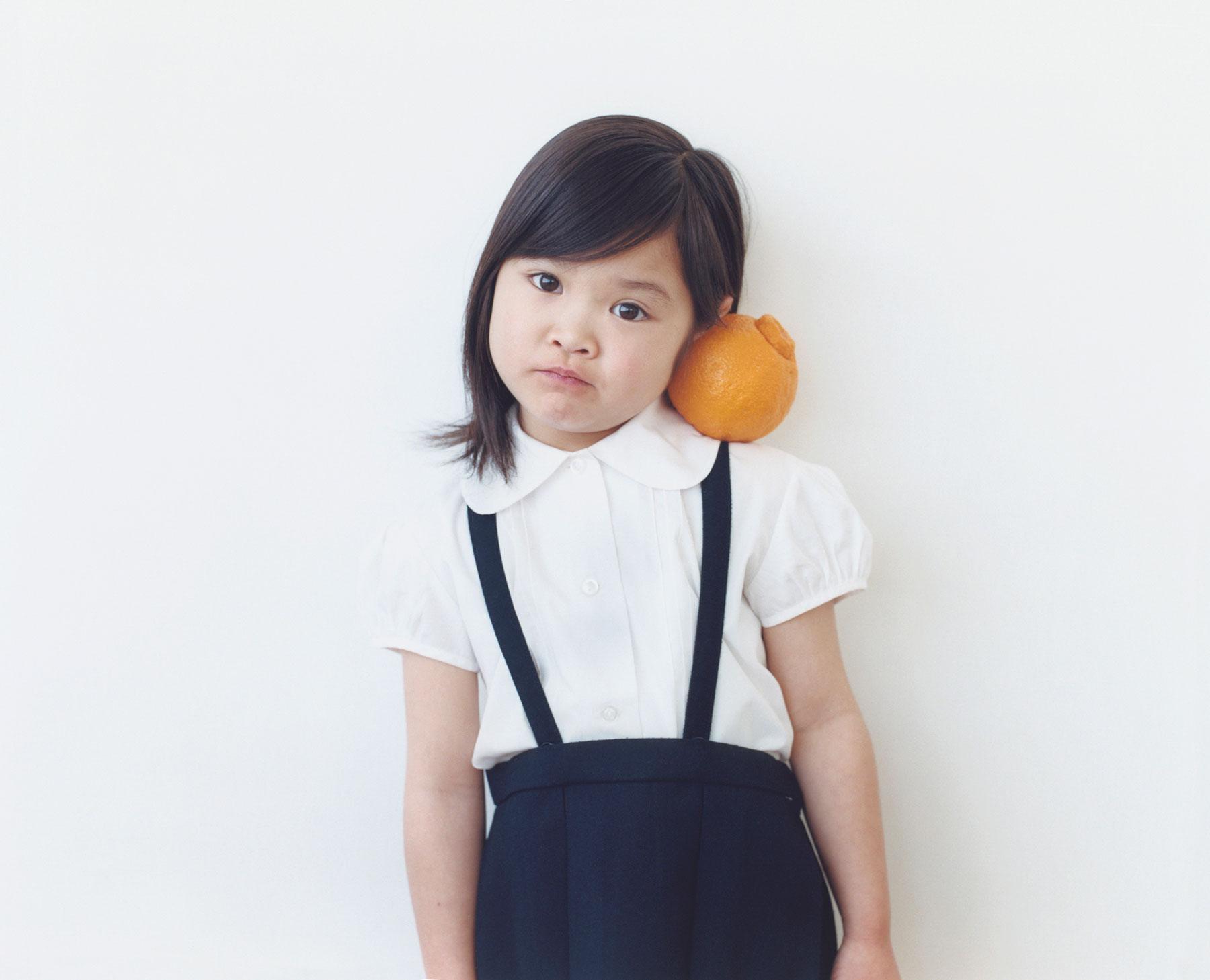 Osamu Yokonami,  1000 Children: Sumo Mandarin No. 46 , 2010-2013  Digital pigment print, 895 x 1105 mm (approx. 34.25 x 43.5 in), edition of 5; 146 x 168 mm (approx. 5.75 x 6.6 in), edition of 10   Inquire
