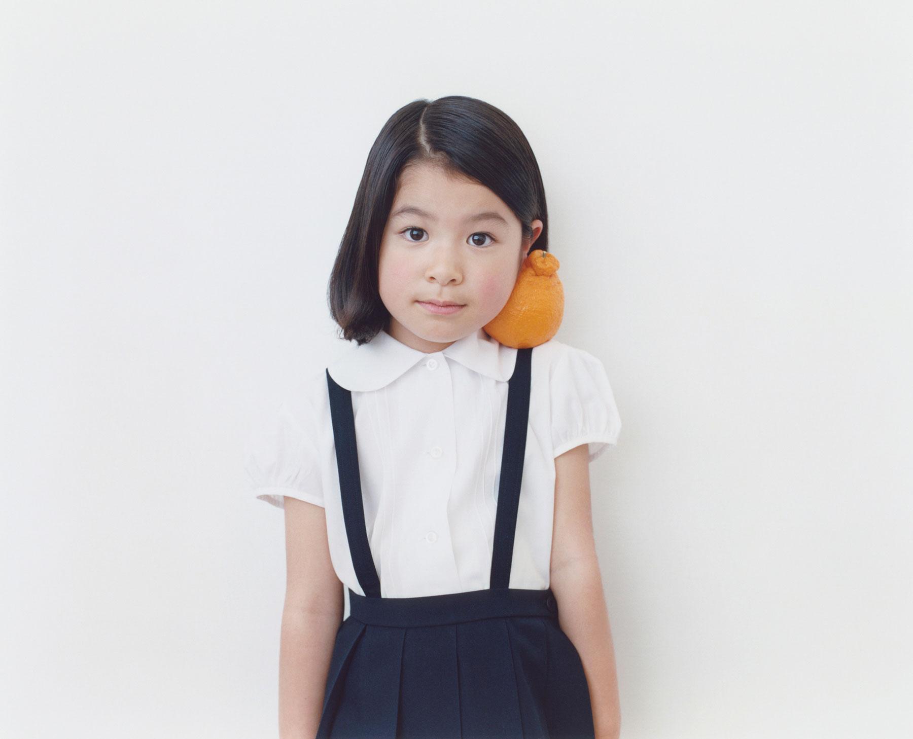 Osamu Yokonami,  1000 Children: Sumo Mandarin No. 45 , 2010-2013  Digital pigment print, 895 x 1105 mm (approx. 34.25 x 43.5 in), edition of 5; 146 x 168 mm (approx. 5.75 x 6.6 in), edition of 10   Inquire