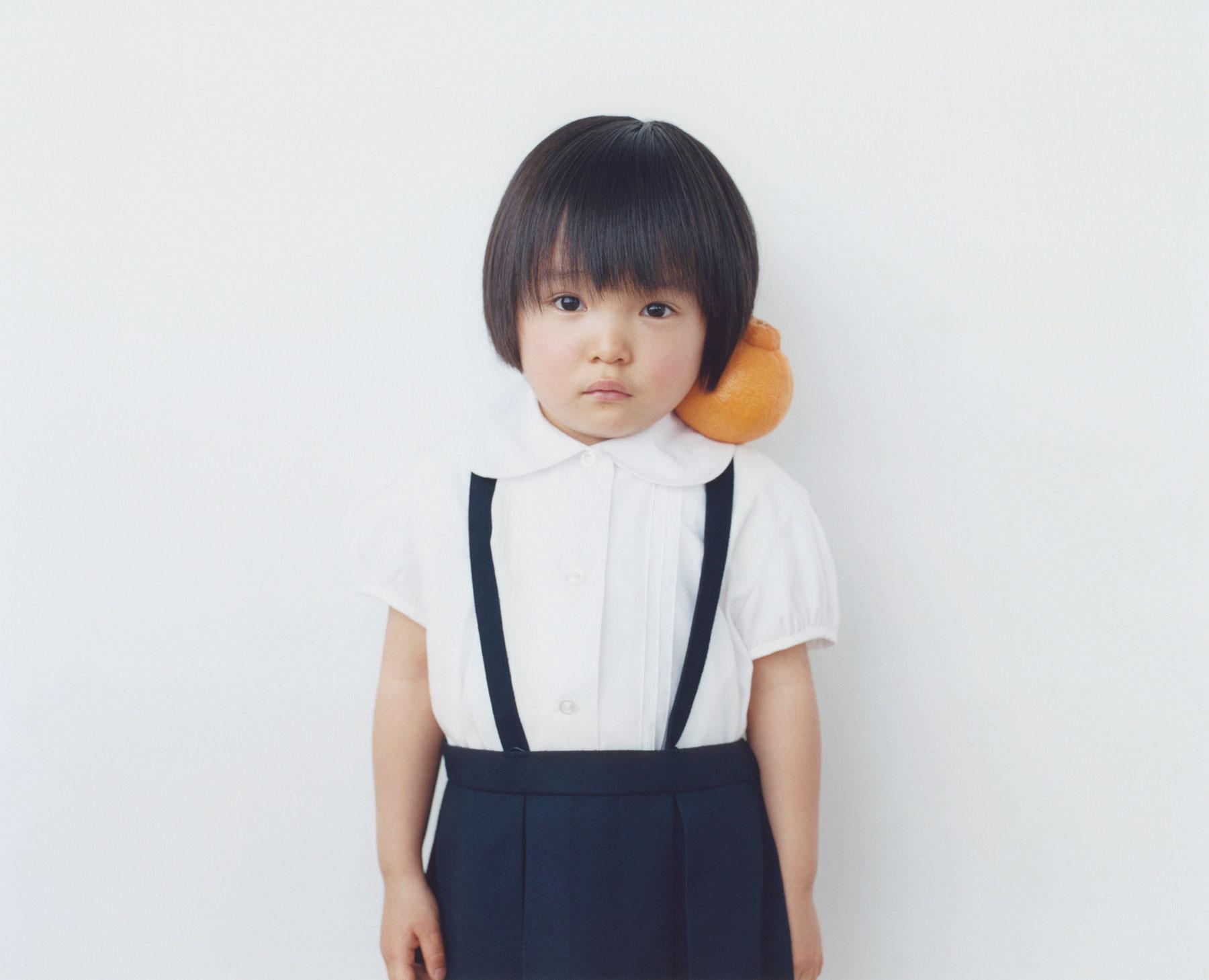 Osamu Yokonami,  1000 Children: Sumo Mandarin No. 53 , 2010-2013  Digital pigment print, 895 x 1105 mm (approx. 34.25 x 43.5 in), edition of 5; 146 x 168 mm (approx. 5.75 x 6.6 in), edition of 10   Inquire