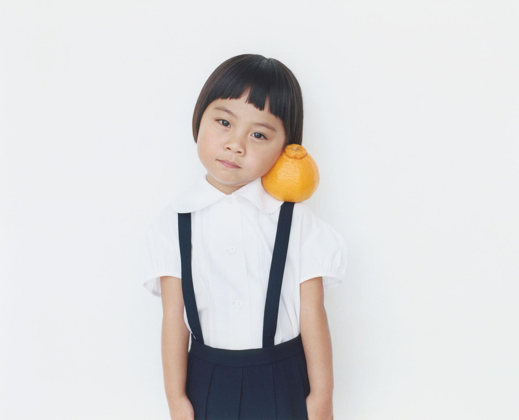 Osamu Yokonami,  1000 Children: Sumo Mandarin No. 71 , 2010-2013  Digital pigment print, 895 x 1105 mm (approx. 34.25 x 43.5 in), edition of 5; 146 x 168 mm (approx. 5.75 x 6.6 in), edition of 10   Inquire