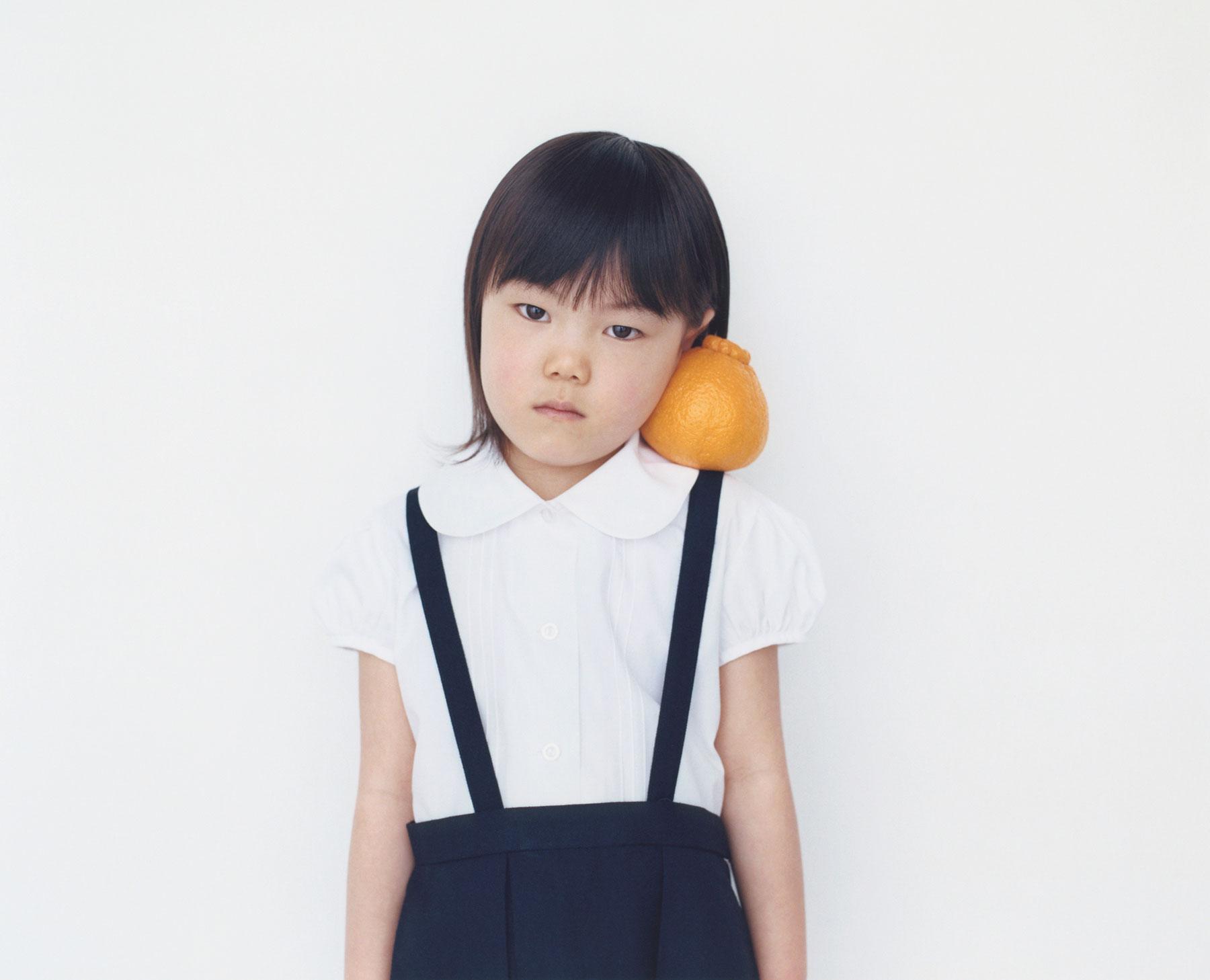 Osamu Yokonami,  1000 Children: Sumo Mandarin No. 75 , 2010-2013  Digital pigment print, 895 x 1105 mm (approx. 34.25 x 43.5 in), edition of 5; 146 x 168 mm (approx. 5.75 x 6.6 in), edition of 10   Inquire