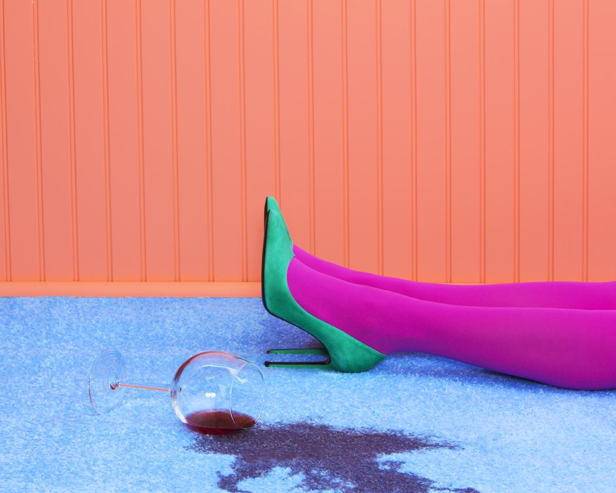 Ramona Rosales,  Half Empty , 2014  Digital pigment print, 30 x 40 in, edition of 5; 20 x 24 in, edition of 5; 16 x 20 in, edition of 10   Inquire