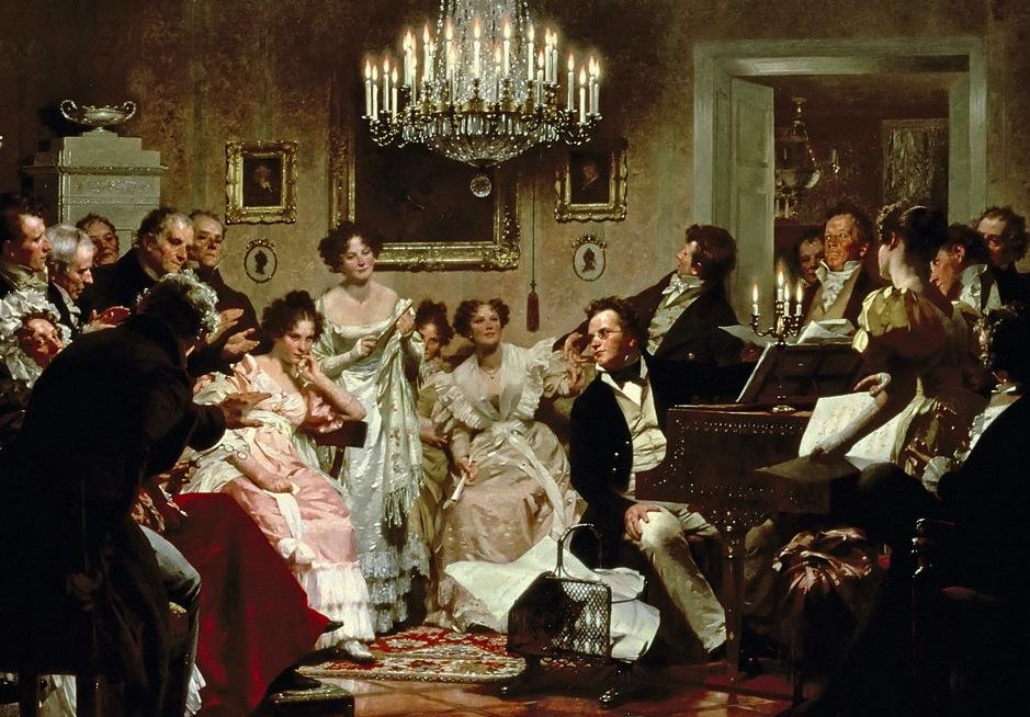 Franz Schubert (1797-1828) wrote a song that would alter the course of music history and would become popularly known as Schubertiade.