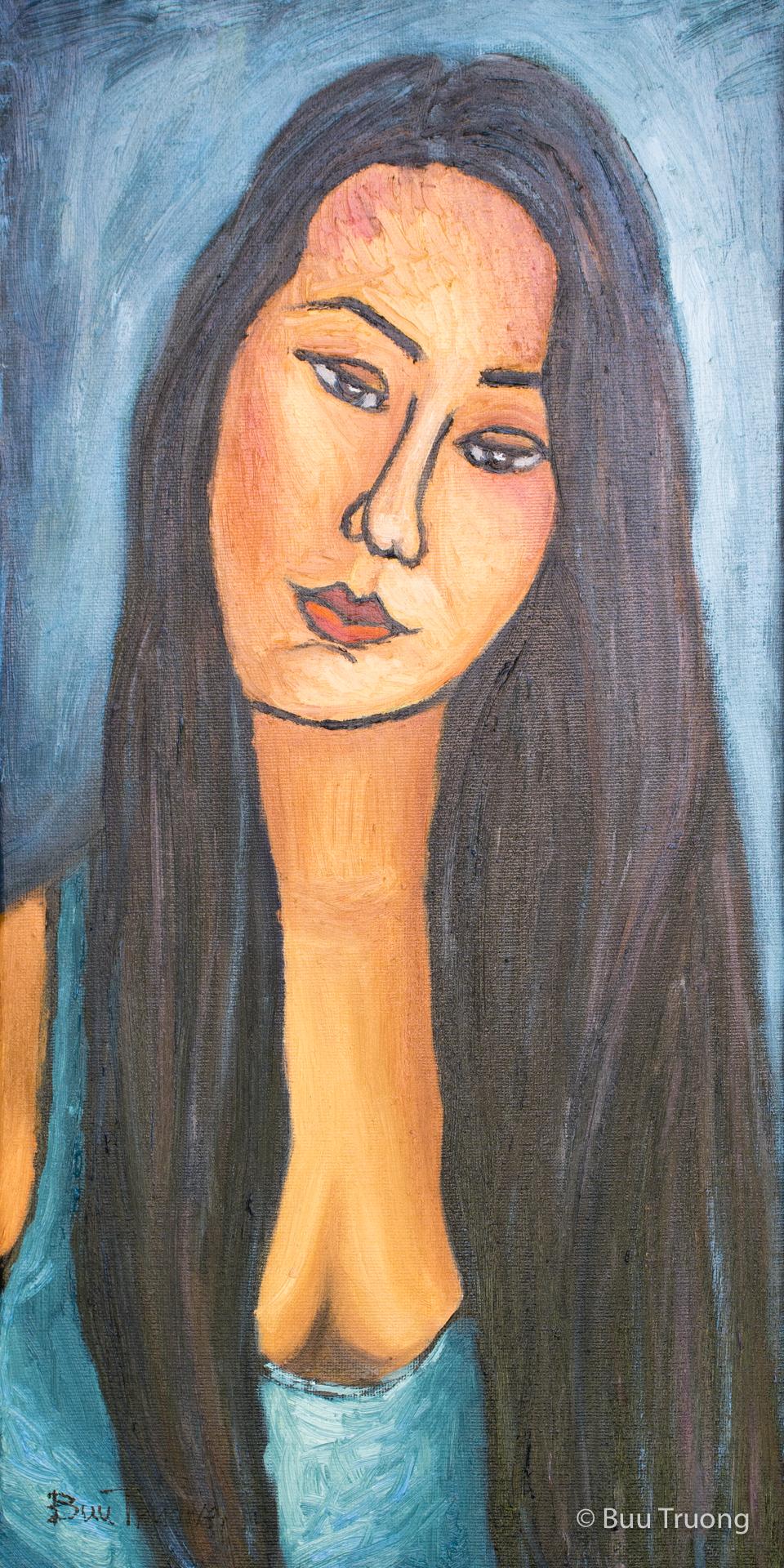 Channeling Modigliani