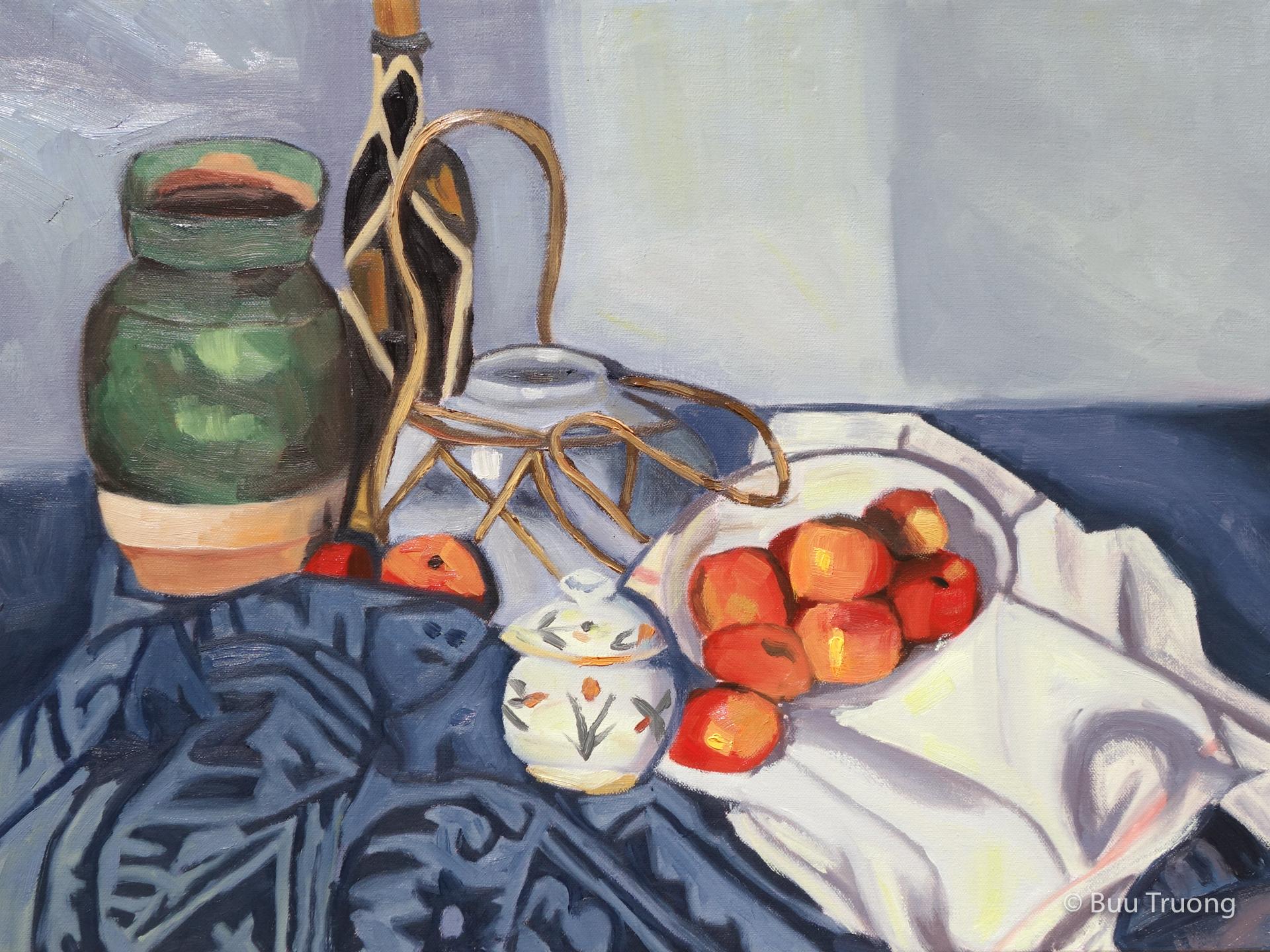 Study of Cezanne's Apples Still-Life