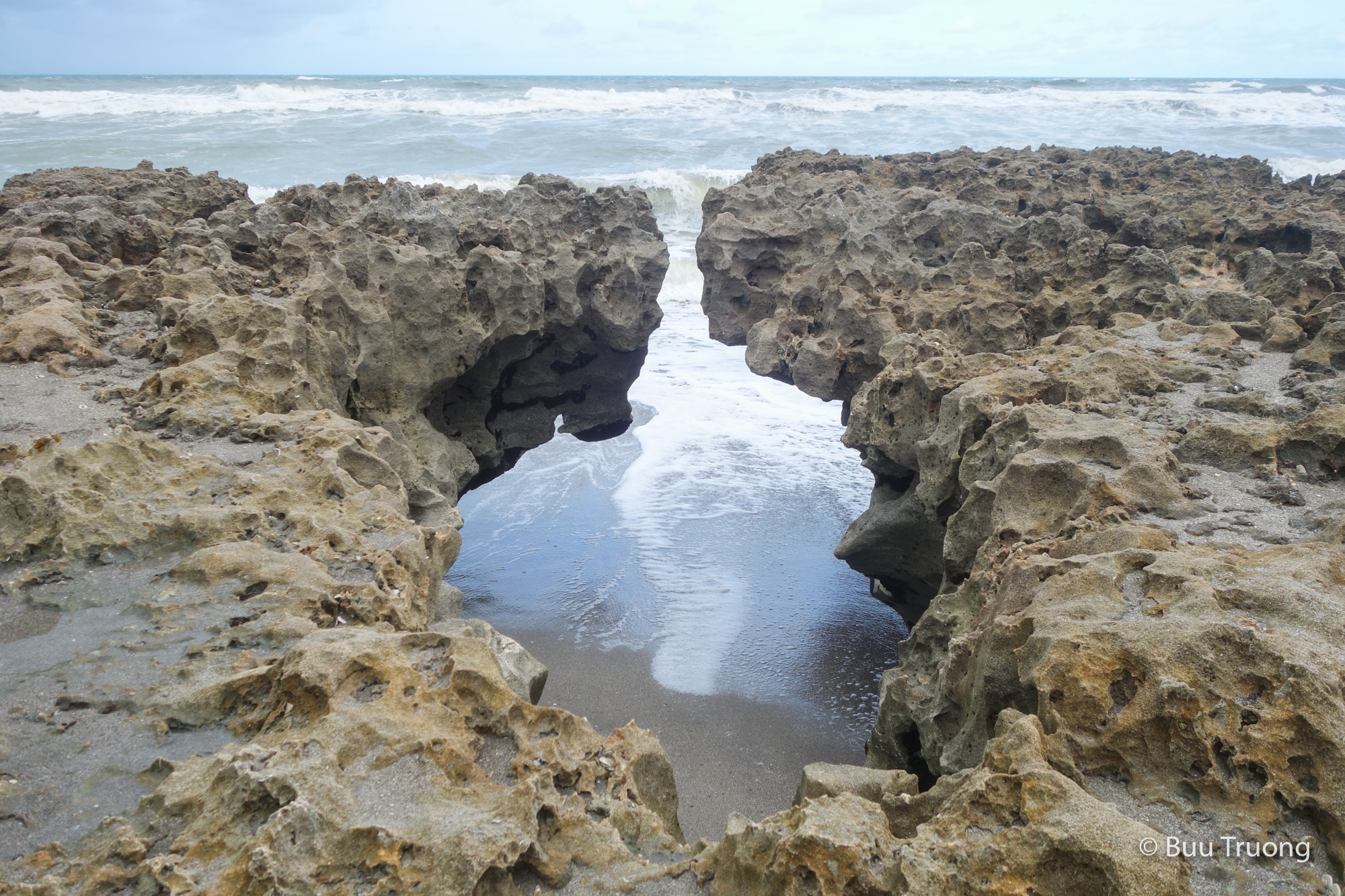 Blowing Rocks Preserve - Cliff