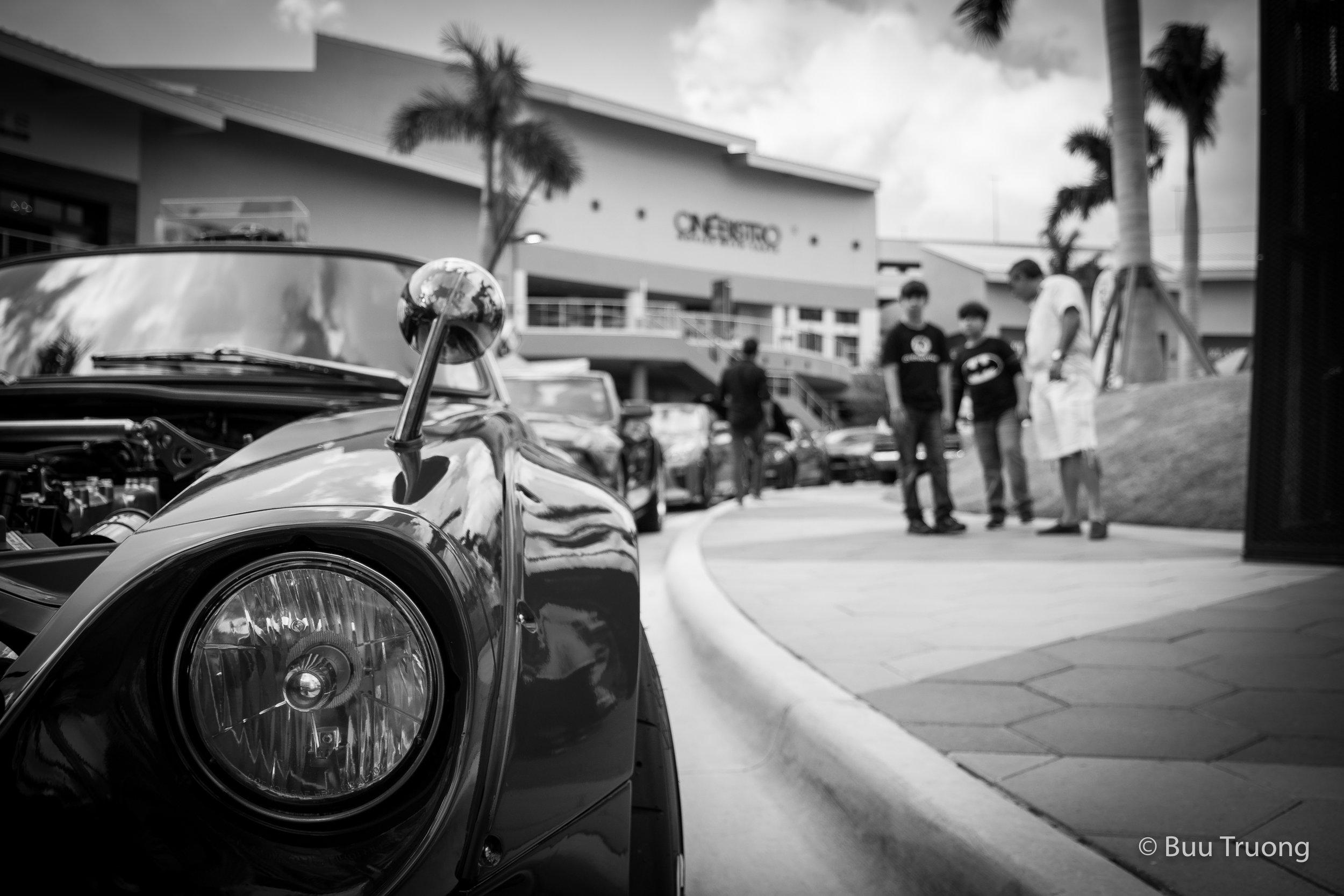 Doral Car Show - Admiring from Afar