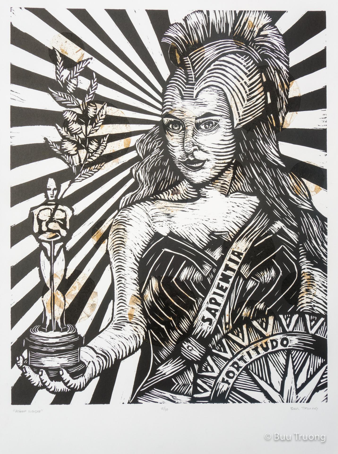 Athena Wonder (Collage 1)