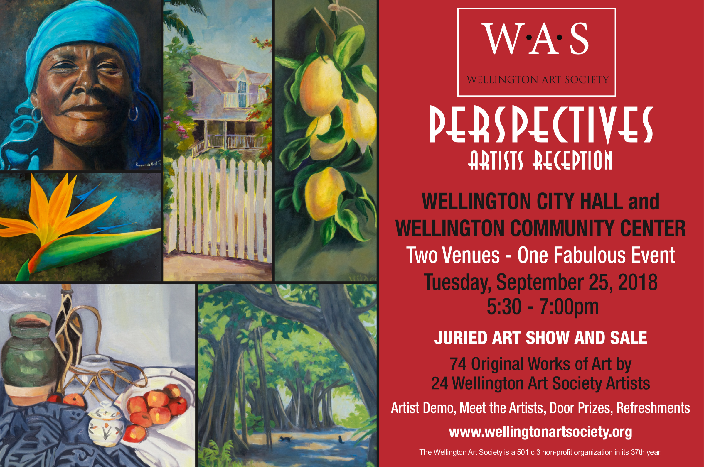 WAS Perspectives Artist Reception