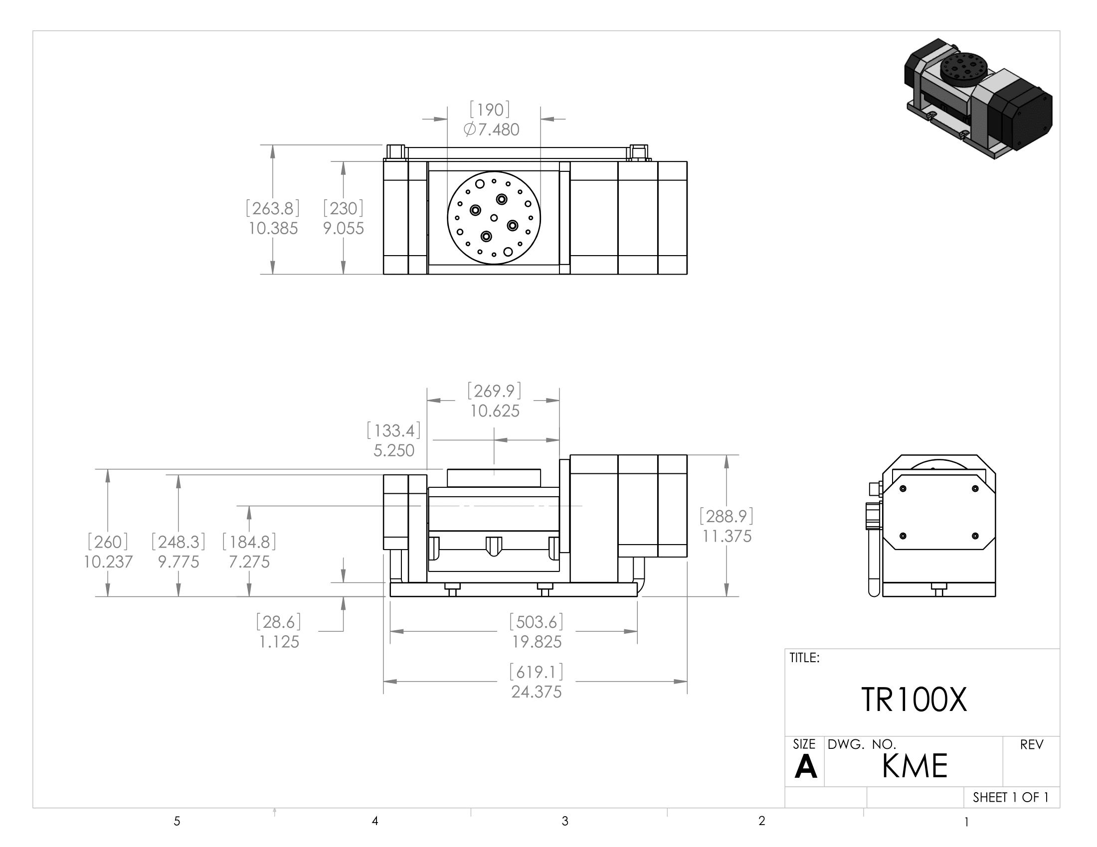 TR100 X