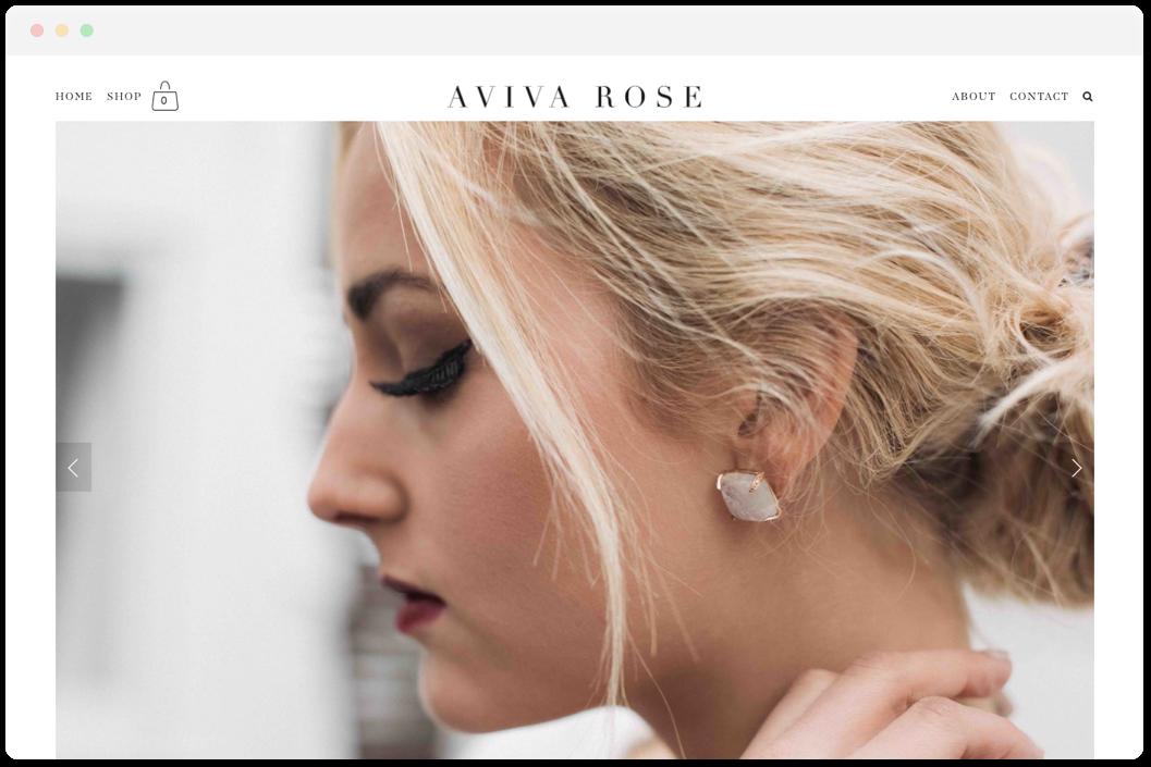 Aviva Rose Jewelry   • Online Store