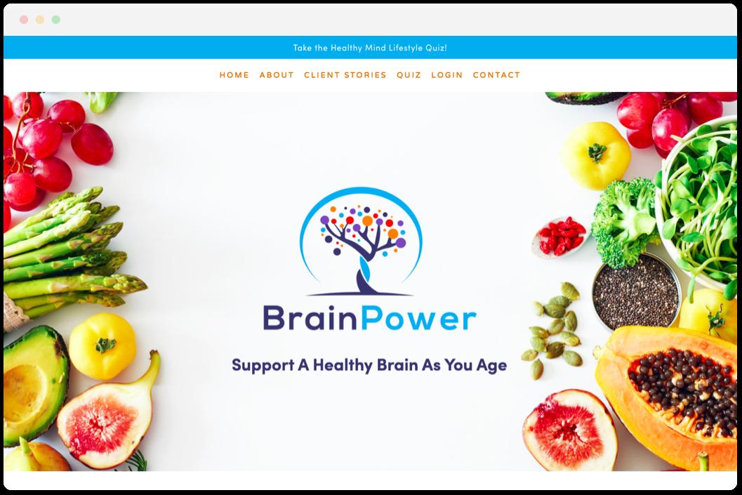 Brain Power   • Health & Wellness