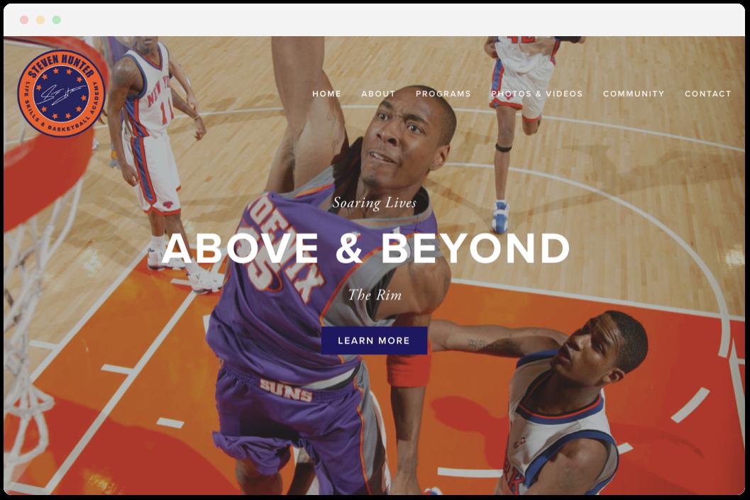 Steven Hunter Basketball   • Sports & Recreation