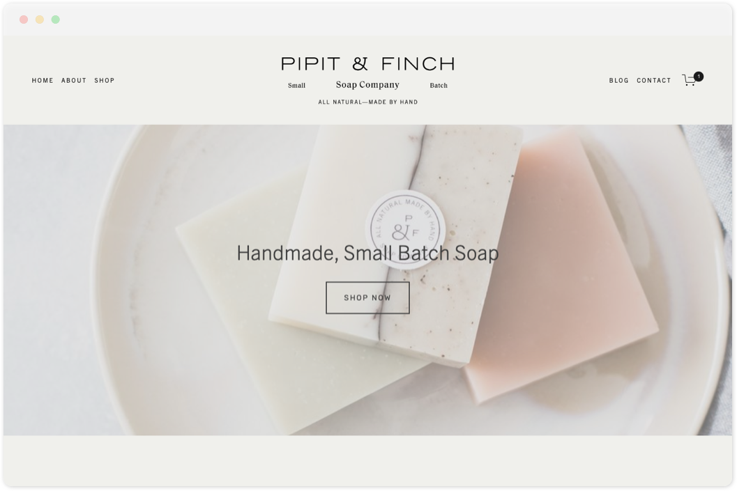 Pipit & Finch   • Online Store