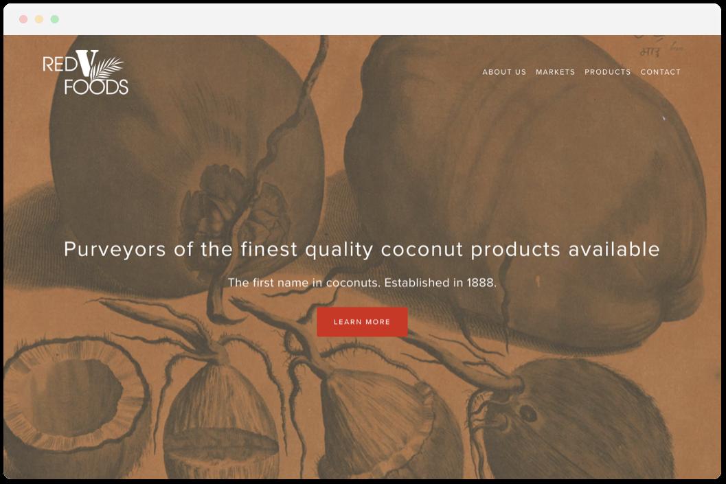 Red V Foods   • Corporation