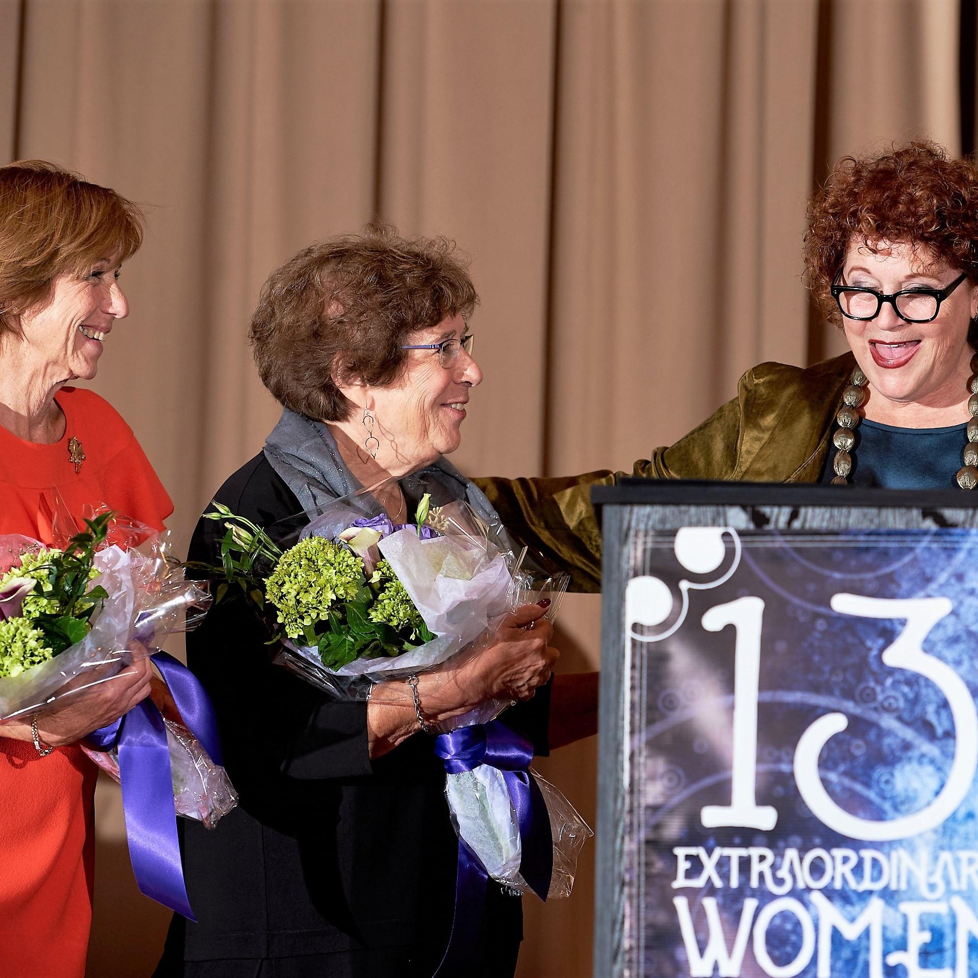 Debrah Barish, Claudia Kadis and Carin Savel closing out 13 Extraordinary Women