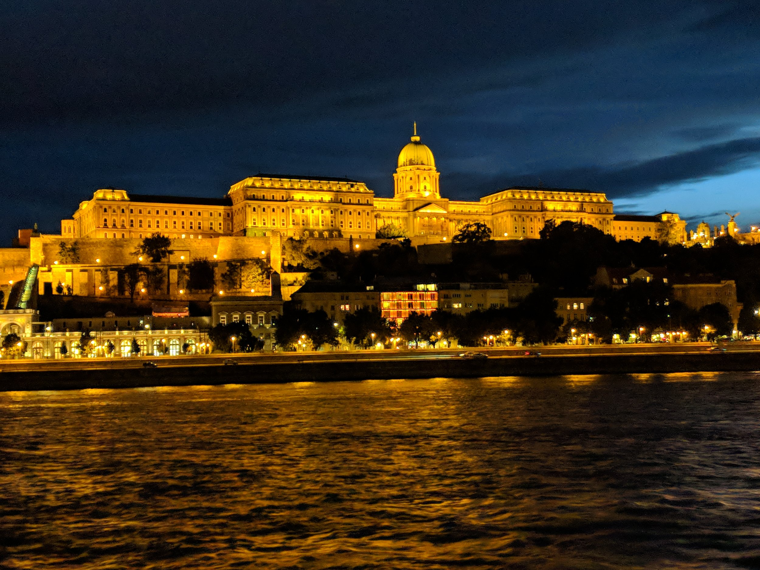 Pest, seen from the Danube River