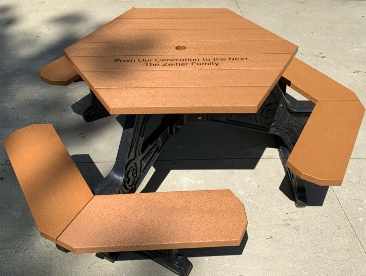 6-Seat Picnic Table - $7,200