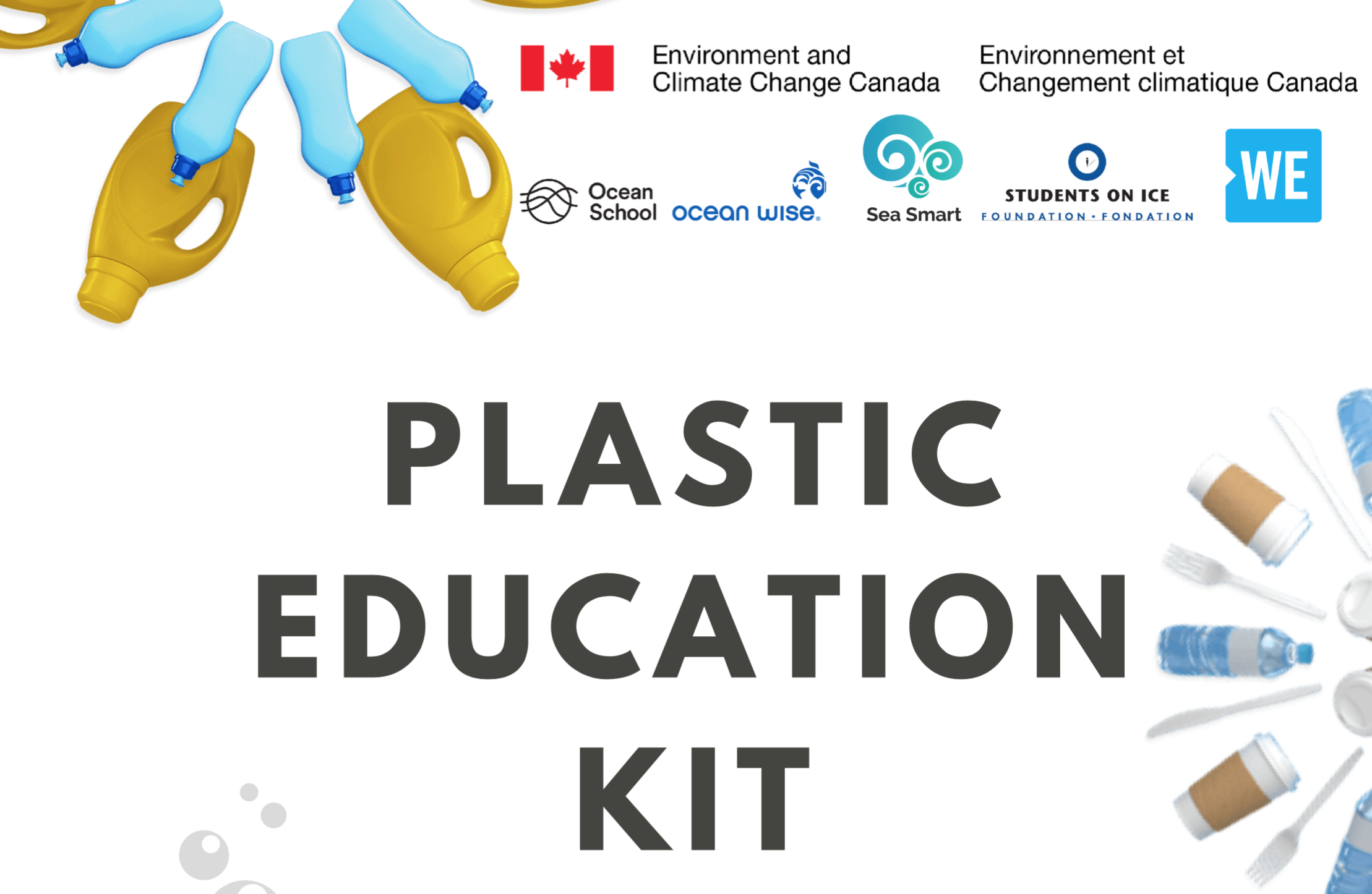 Ocean Plastics Education - Click here to access education kits, curriculum programs, unit plans, workbooks and more!