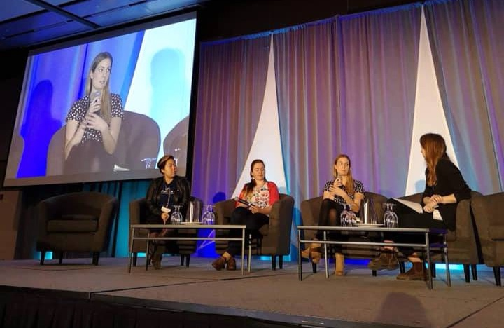 I was lucky to be able to speak on a panel with three other women at Canada's Arctic Net ASM (Annual Scientific Meeting). This panel focused on the experiences of women in arctic science and the challenges associated with it.