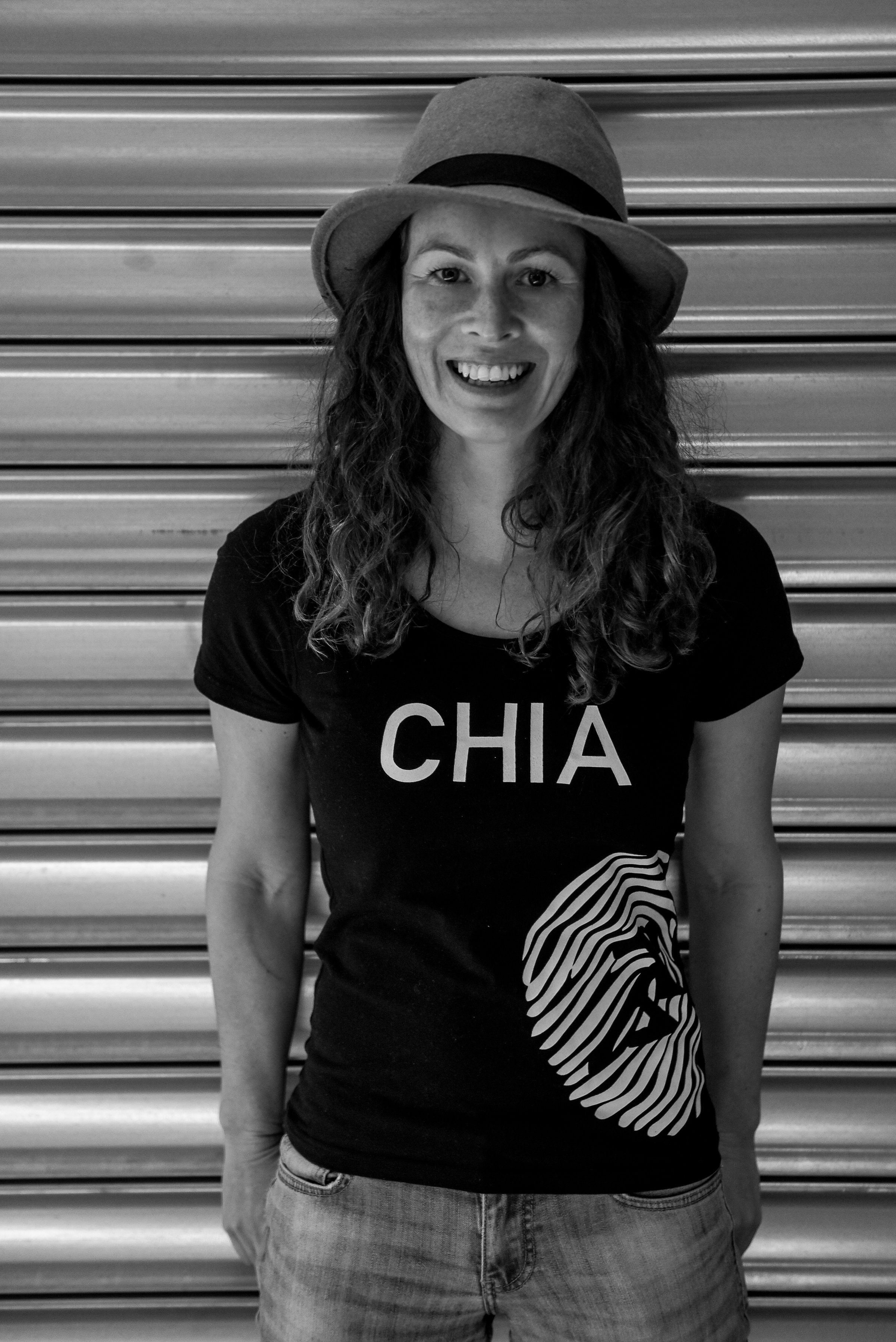 Chloe Van Dyke  I'm the founder of Chia Sisters. My background in Neuroscience and research of the medicinal properties of plants, naturally fostered the desire to make the healthiest, most innovative beverages in the world.  To do this it's my role to surround myself with people who are more intelligent and can get the job done better than I ever could.