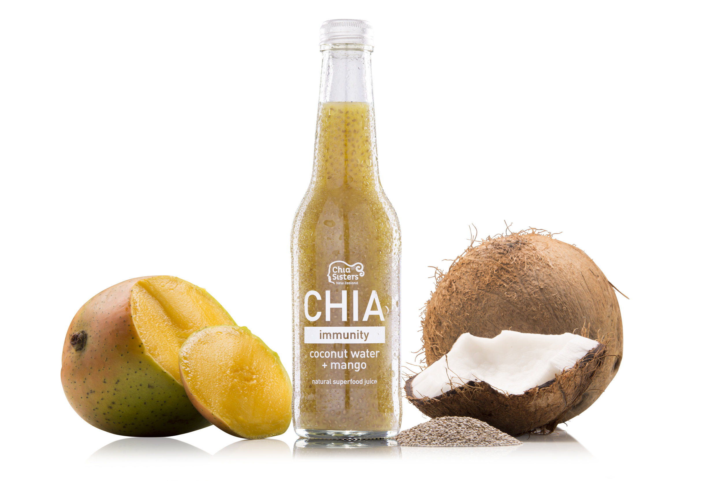 Chia Coconut Water and Mango