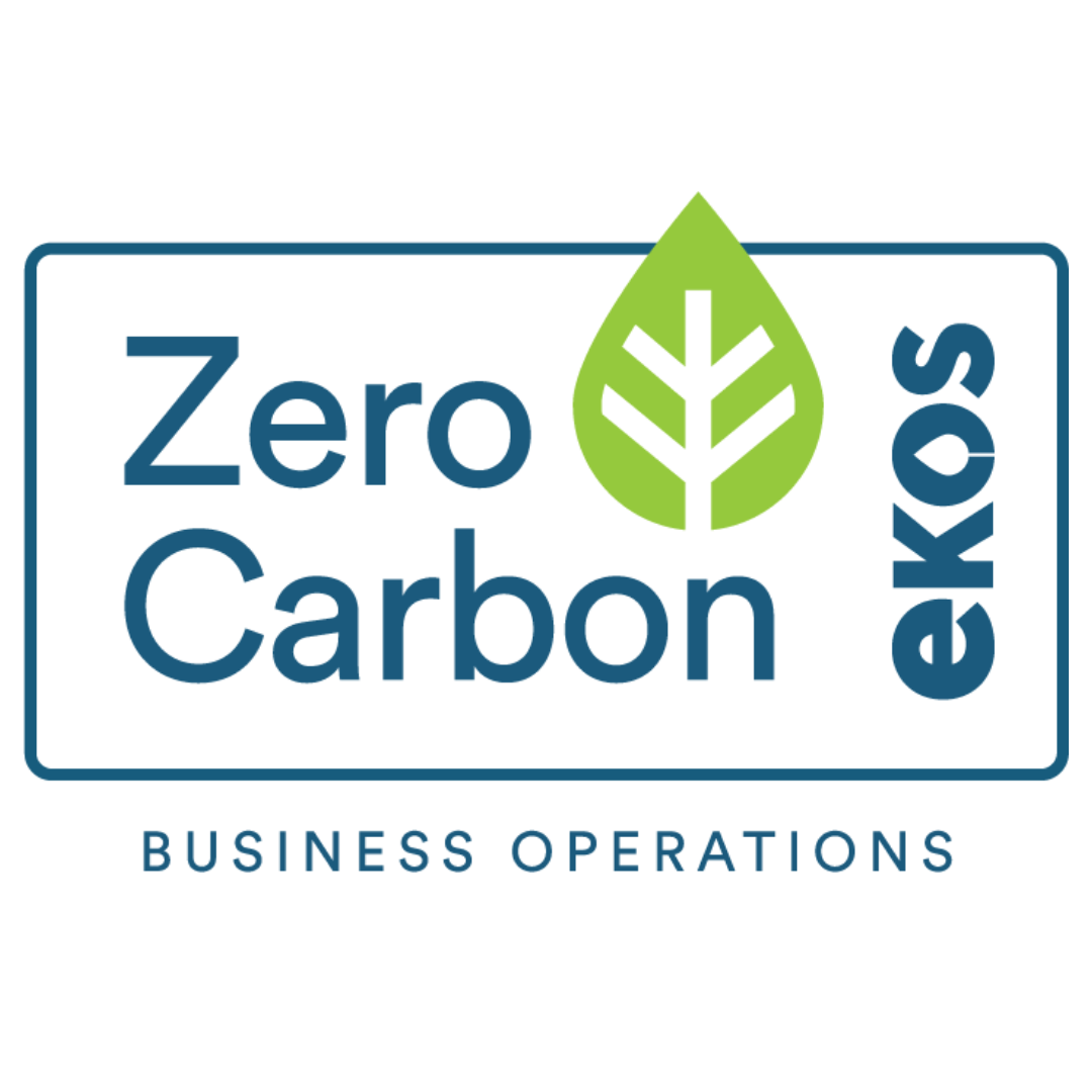 Certified Ekos Zero Carbon Business Operations