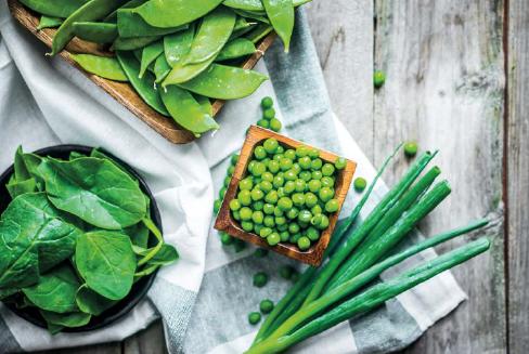 Casarecce with peas by Guy Mirabella -