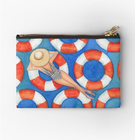 Beach Babe Travel Bag |    $13