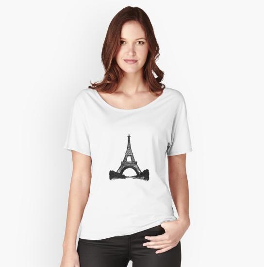 Eiffel Tower T-Shirt |  $31.95