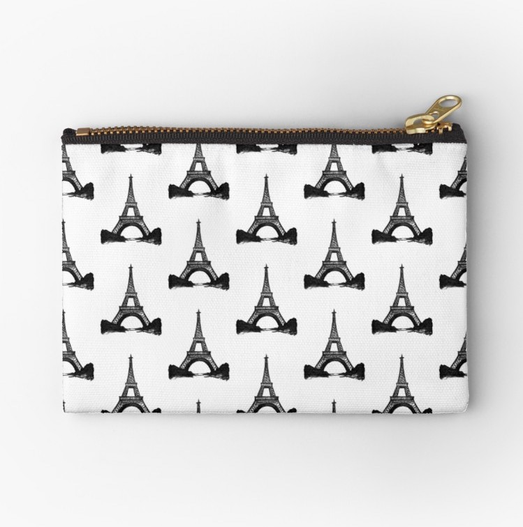 Black Eiffel Tower Purse |  $13