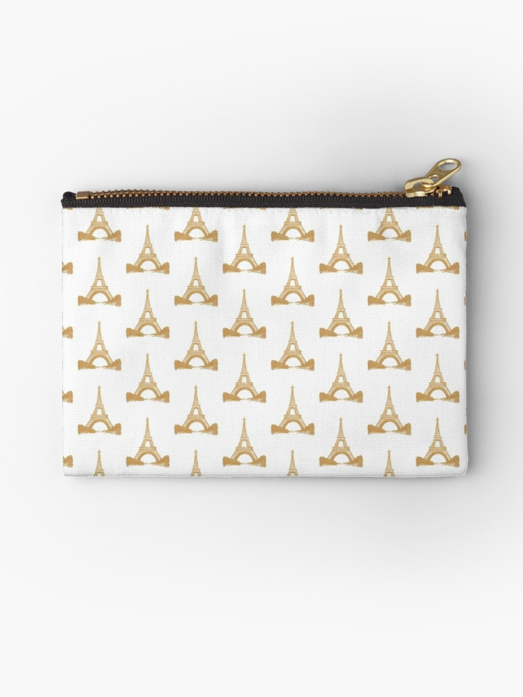 Gold Eiffel Tower Purse |  $13