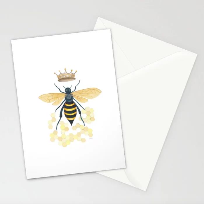 Queen Bee - 5x7 Cards (set of 10)  $23.99