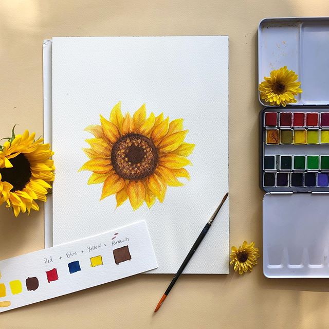NEW class on @skillshare is up finally. I definitely learned a lot through this process but I'm super excited about you guys learning a little bit. I mean how can you resist sunflowers 🌻 Link is in bio 😊. . . . #skillshare #skillshareclass #art #educator #learnerforlife #myart #colorpalette #artistic #design #naturelovers #pastels #gardenlife #solitude #bliss #bosslady #hartfordhasit #flowers #flowerstagram #art #artist #flowerstyle #pink #floral #illo #illustration #flowerpower🌸 #livecolorfully #travelartist #watercolor #lifeofanartist