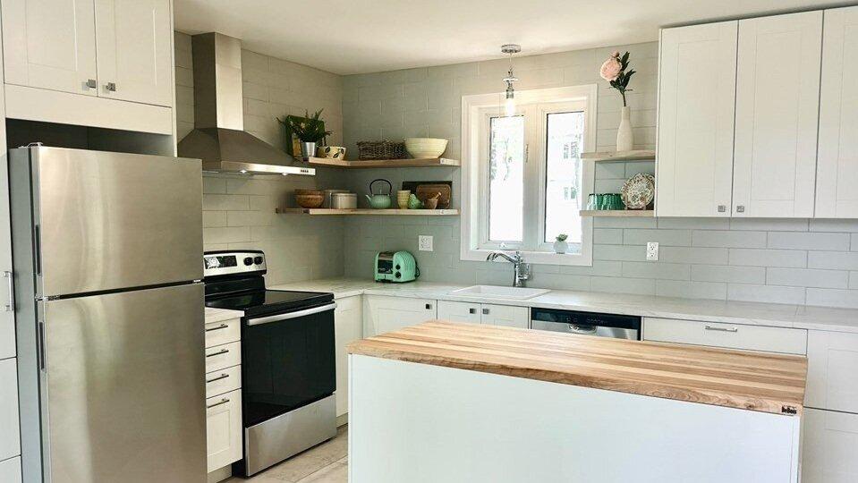 Rénovation de cuisine - Offrez-vous la cuisine de vos rêves!