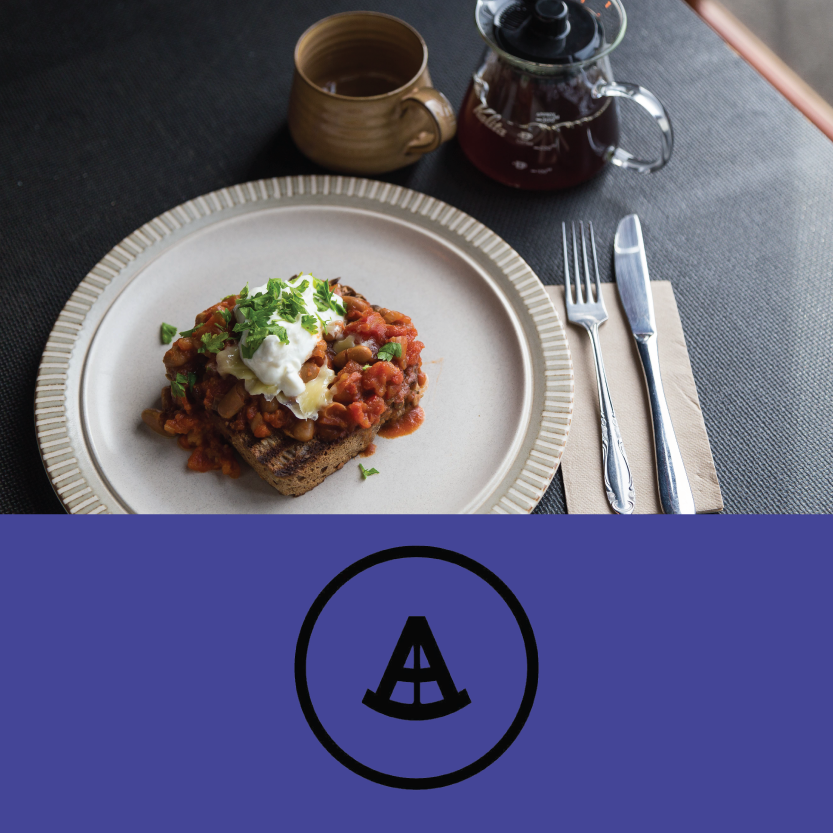 The Anchorage   (4 Walker St, Christchurch Central)   Slow cooked smokey baked beans: with parmesan and sour cream on a slab of toasted Grizzly rye / Beverage pair: Specialty filter coffee