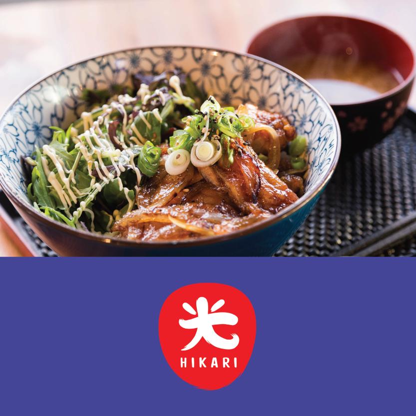 Hikari   (287 Durham Street North, Christchurch Central)   Teriyaki Chicken Donburi on Rice (with Miso soup)